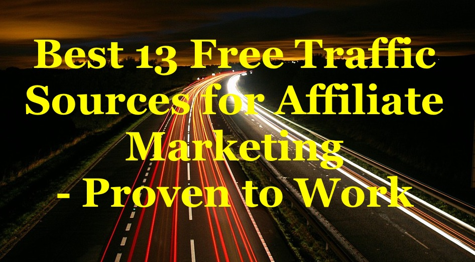Best 13 Free Traffic Sources