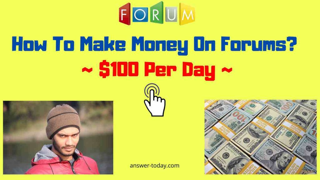 How To Make Money On Forums