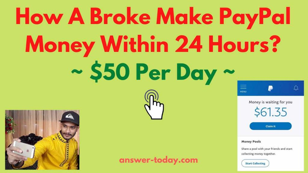 How A Broke Makes PayPal Money For Free