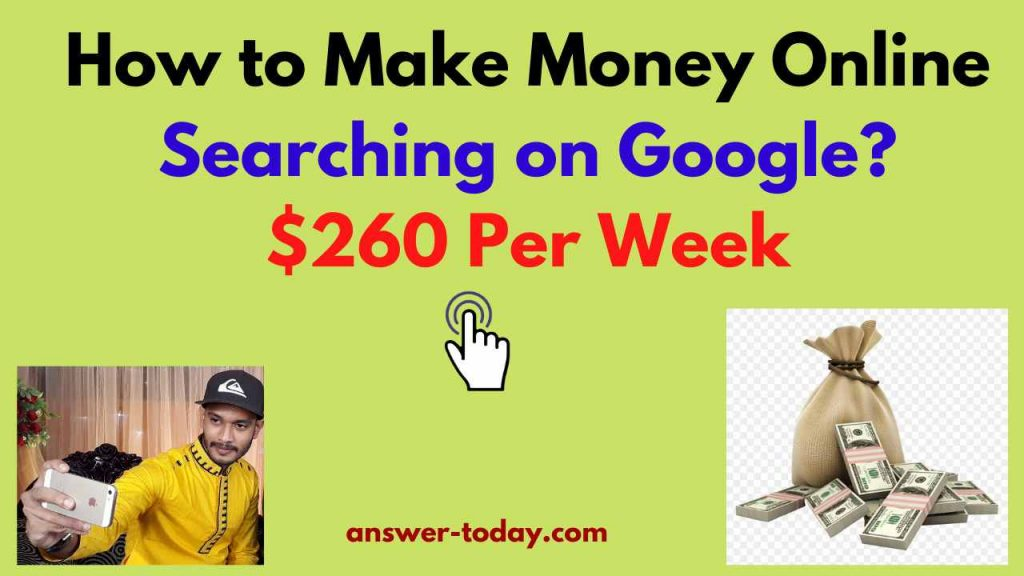 How to Make Money Online Searching on Google