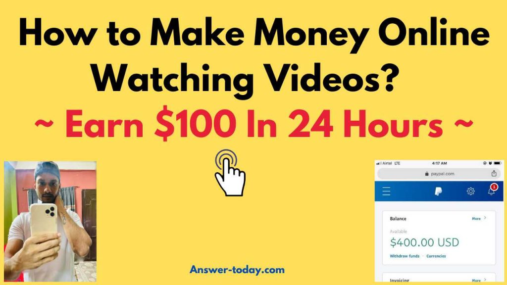 How to Make Money Online Watching Videos