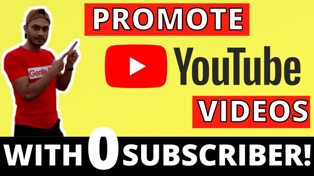 How to Promote YouTube Videos as A Beginner