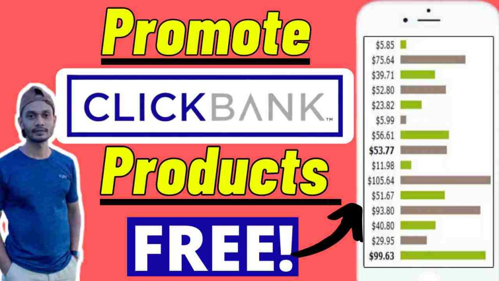 How to Promote Clickbank Products Free