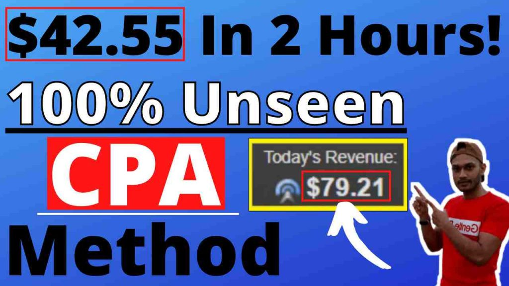 New CPA Marketing Tutorial For Beginners