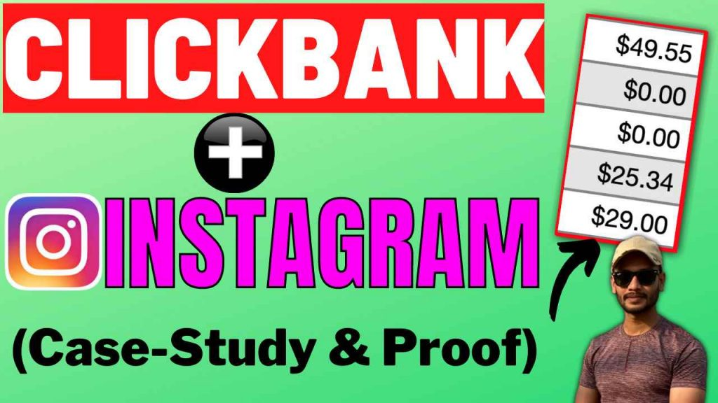 How I Promote Clickbank Products with Instagram